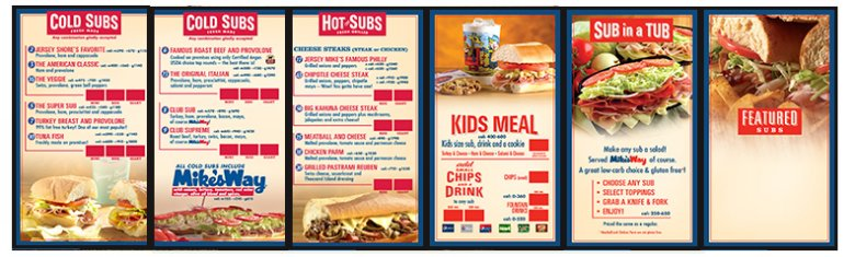 menu board design templates free - Yeni.mescale.co